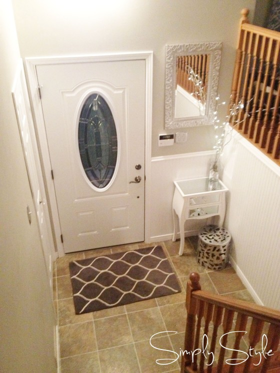 Simply Style Blog - Foyer Facelift