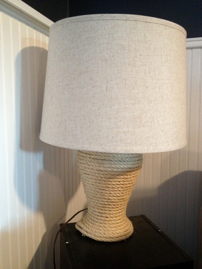 Simply Style Blog - Lamp Revamp