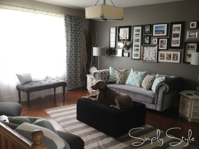 Simply Style Blog - Living Room Makeover