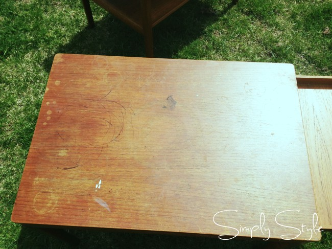 Simply Style Blog - Table Transformation