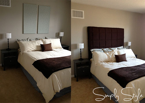 Quick and Easy Upholstered Headboard
