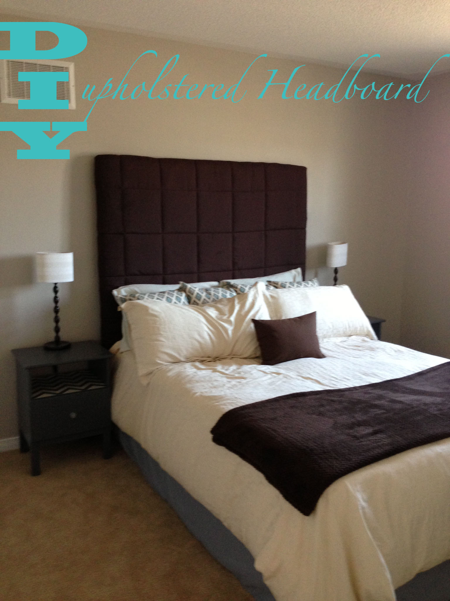 upholstered diy after make anastasia to how vintage headboard