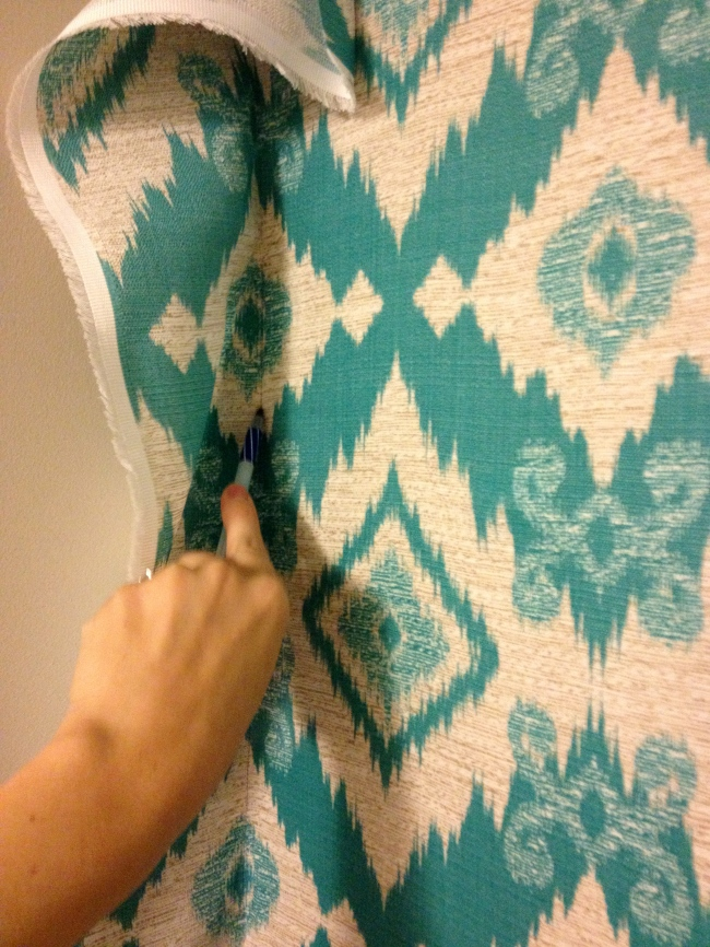 Simply Style Blog - Fabric Wall Coverings Tutorial