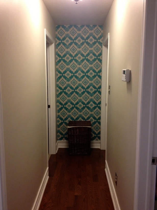 Simply Style Blog - Fabric Wall Covering Tutorial