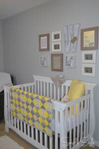 Simply Style - Stone's Gender Neutral Grey and Yellow Nursery Revealed