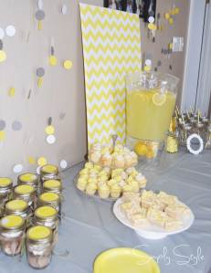 Simply Style - Grey and Yellow Gender Neutral Baby Shower